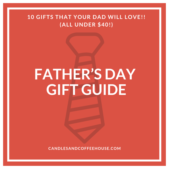 10 gifts your dad will love